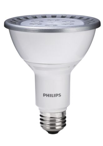 Philips  13W PAR30L Flood Bright White 046677420314