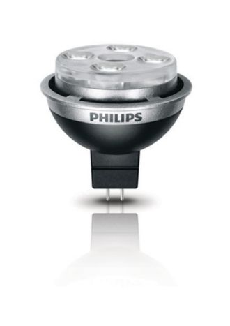 Philips  10W MR16 Flood Bright White 046677420369