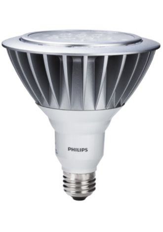 Philips  17W Outdoor PAR38 Flood Bright White 046677422196