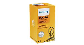 Konwencjonalna żarówka wewn. i sygnalizacyjna PSX24W 12V 24W