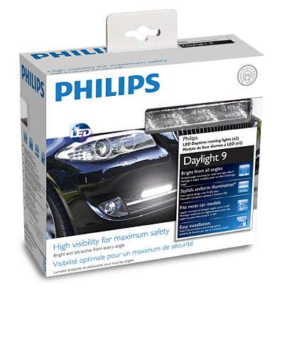 Дневные ходовые огни Philips DAYLIGHT 9 LED 12831 WLEDX1