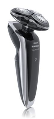 Philips Norelco Shaver 8800 Series 8000 wet & dry electric shaver 1290X/40 UltraTrack heads GyroFlex 3D contouring system 60 min shaving, 1 hour charge Advanced touch-screen display with Precision trimmer