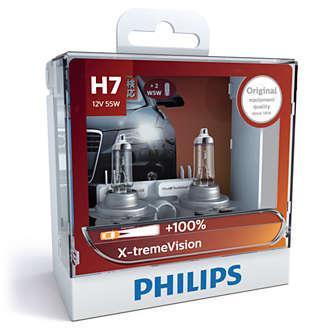 Philips X-tremeVision H7 12972XVSM
