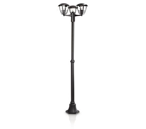 Borne lampadaire 153853016 philips - Castorama luminaire exterieur jardin ...