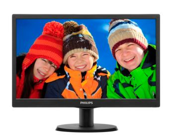 V-line LCD monitor with LED backlight