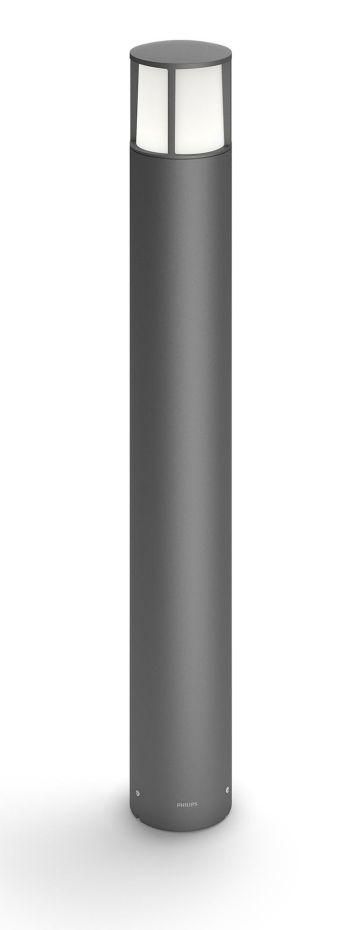 Latarnia LED Stock w kolorze antracytowym