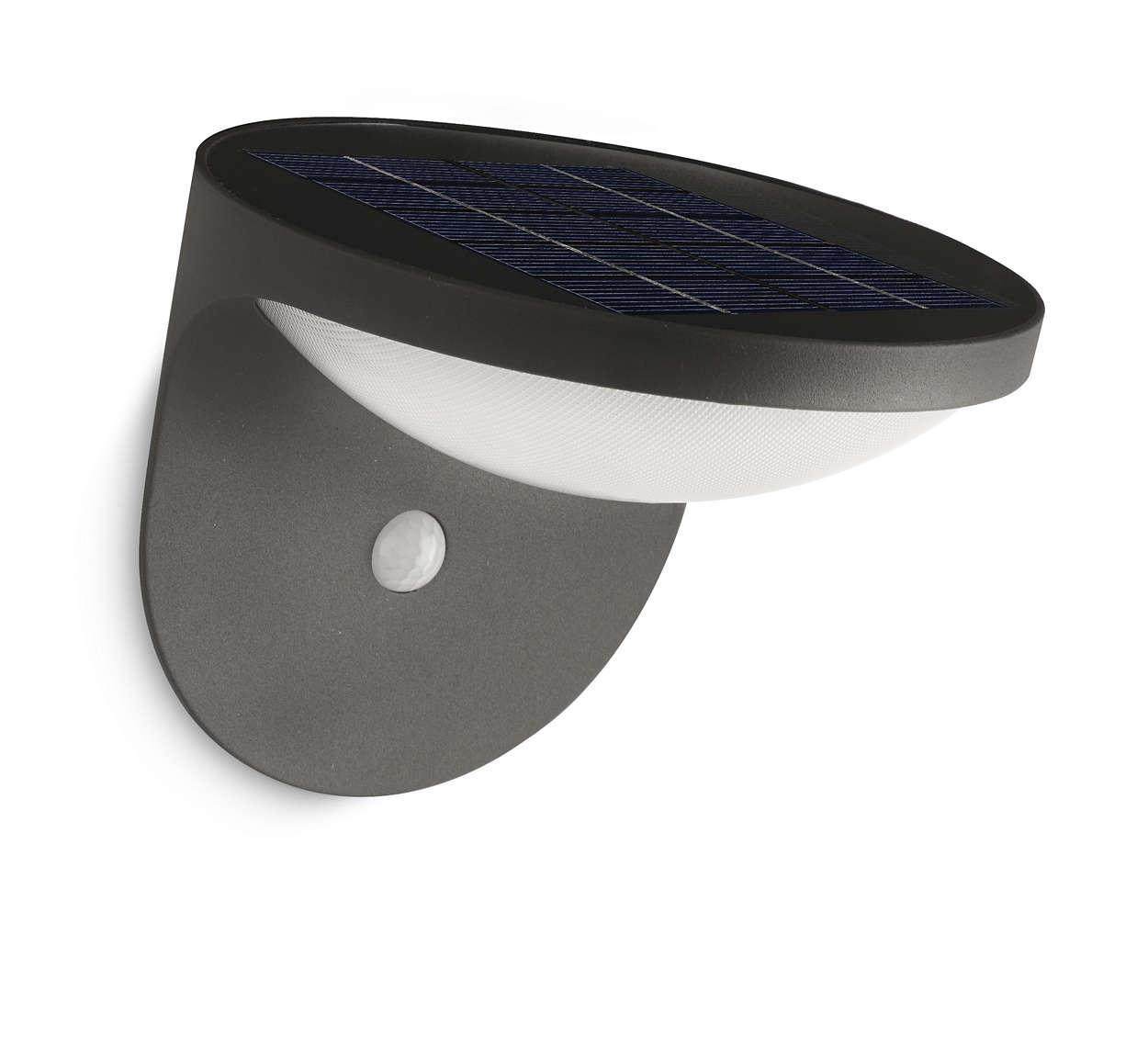 Transformez l 39 nergie solaire en clairage led - Eclairage exterieur philips ...