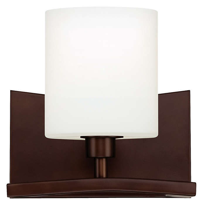 Cabaret 1-light Wall in Merlot finish