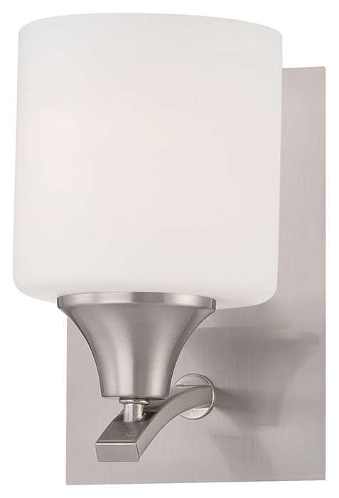 Hayden 1-light Bath in Satin Nickel finish