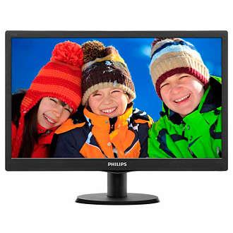 PHILIPS Монитор LED LCD PHILIPS 18.5 V-Line 193V5LSB2:62 D-Sub купить и провести сервисное обслуживание в Житомире и области