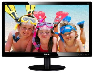 Philips  LCD monitor with LED backlight V-line 196V4LSB2/00