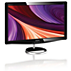 Brilliance LCD monitor with LED