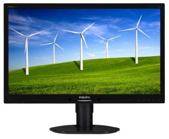 Philips Brilliance Monitor LCD com luz de fundo por LED B-line 241B4LPYCB/00