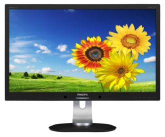 Philips Brilliance Monitor LCD com luz de fundo por LED P-line 241P4QPYEB/00