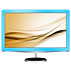 Brilliance LCD monitor with LED backlight