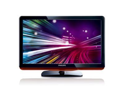 26 inch HD Ready DVB-T LCD-TV met Digital Crystal Clear