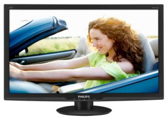 Philips  AMVA LCD monitor, LED backlight E-line 273E3QHSB/00