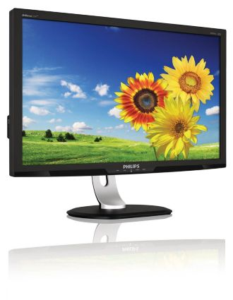 Philips Brilliance AMVA LCD monitor, LED backlight P-line 273P3QPYEB/27