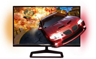 Philips Brilliance LCD monitor with Ambiglow Gioco 278G4DHSD/75