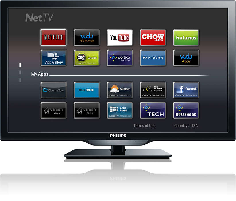 Wireless smart TV