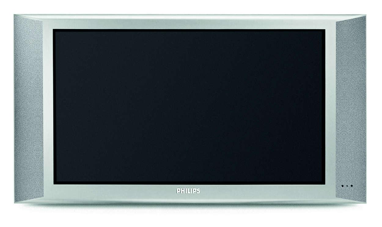 Widescreen Flat Tv 30pf9975 17 Philips