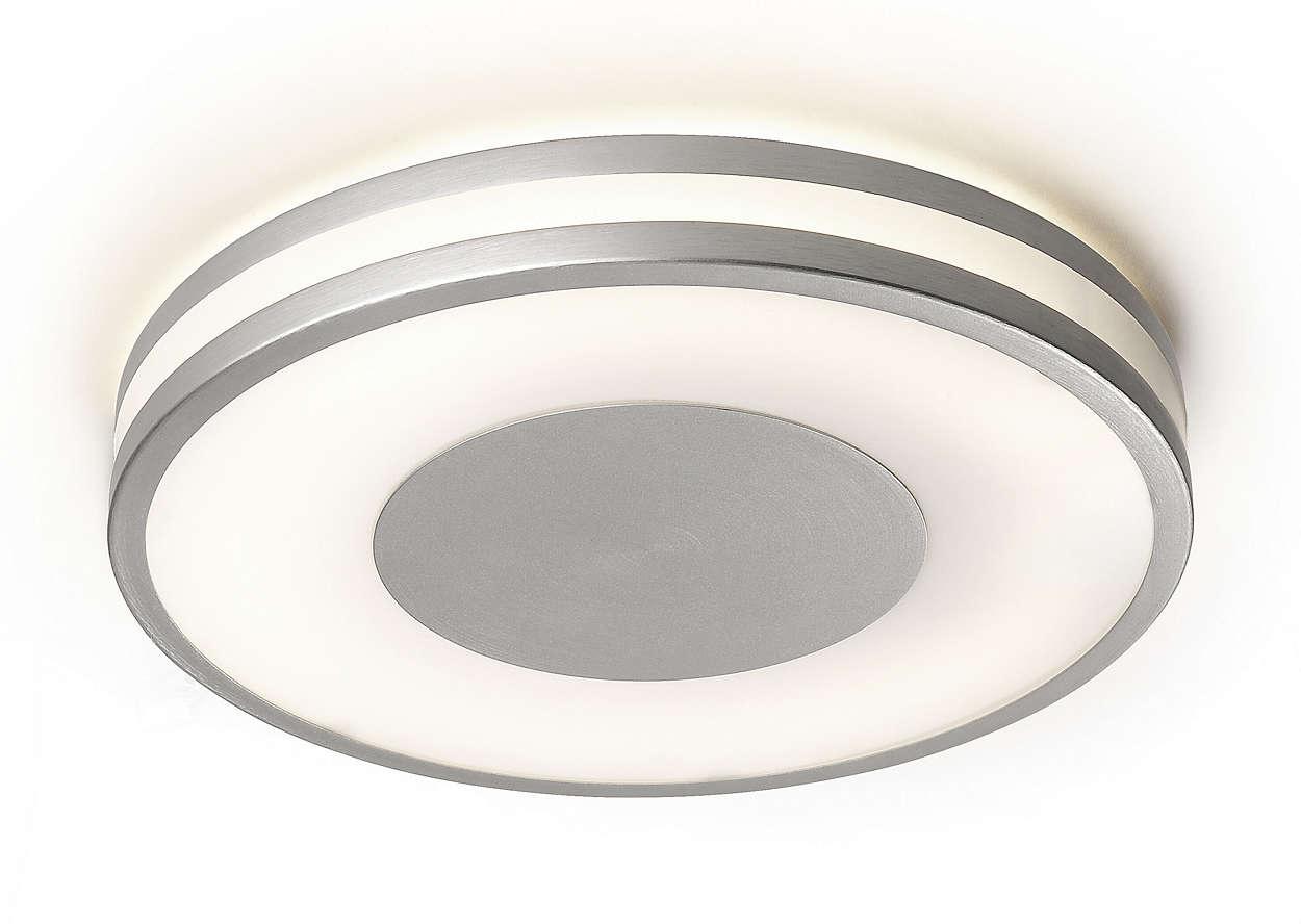 Plafonnier 326104816 philips for Ampoule plafonnier salle de bain