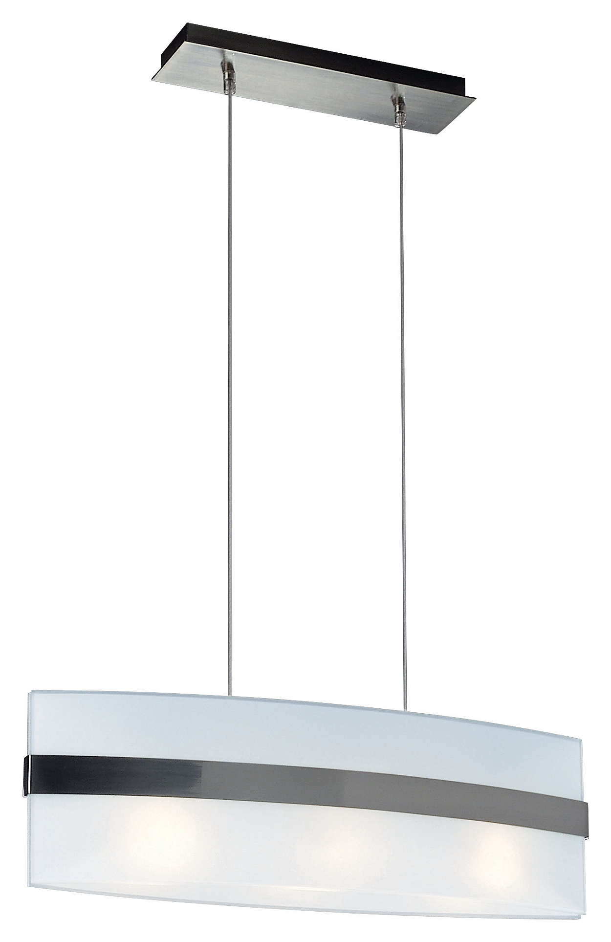 Nienke 3-light Pendant in Matte Chrome finish