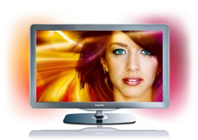 "Philips LED-TV 37PFL7605H 94 cm (37"") 1080p Full HD digitale TV met Ambilight Spectra 2 en Pixel Precise HD"