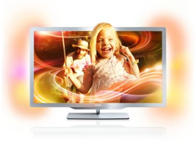 "Philips 7000 series Smart LED-TV 37PFL7676H 94 cm (37"") Easy 3D DVB-T/C met Ambilight Spectra 2 en Pixel Precise HD"