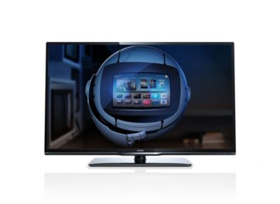 "Philips 3200 series Slanke Smart LED-TV 39PFL3208H 99 cm (39"") Full HD 1080p DVB-T/C met Digital Crystal Clear"