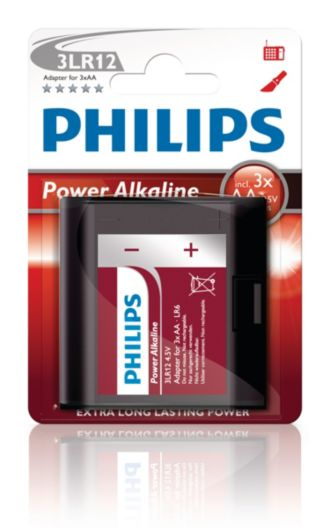 Philips  Adapteris 4,5 V 3LR12P1B/10