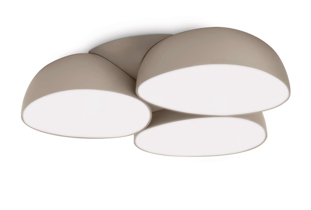 deckenleuchte 408288716 philips. Black Bedroom Furniture Sets. Home Design Ideas