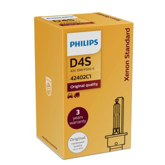Philips  Automotive Headlight D4S 42402C1
