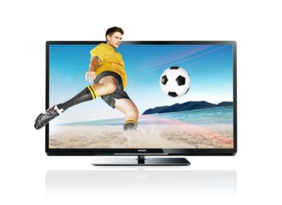Philips 4000 series Smart LED TV 42PFL4307K 107cm (42 inç) Easy 3D DVB T/C/S2 Pixel Plus HD ile