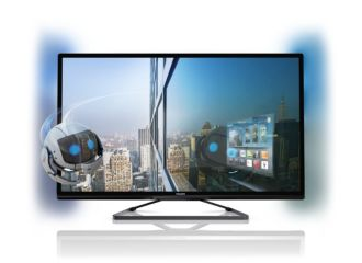 Philips 5000 series Televisor Smart LED 3D ultradelgado 107 cm (42
