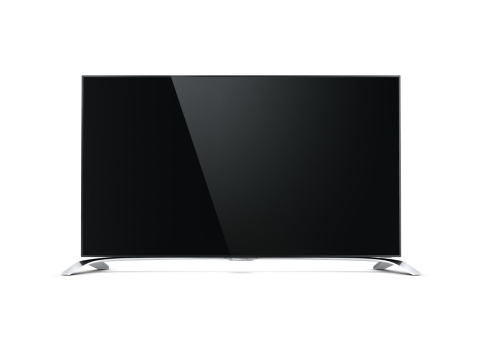 Ultraflacher 4K Ultra HD-TV powered by Android