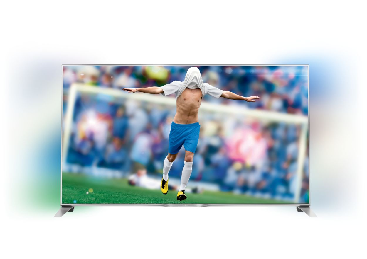 c p PFS series ultratyndt smart full hd led tv med sidet ambilight og smart tv specifikationer