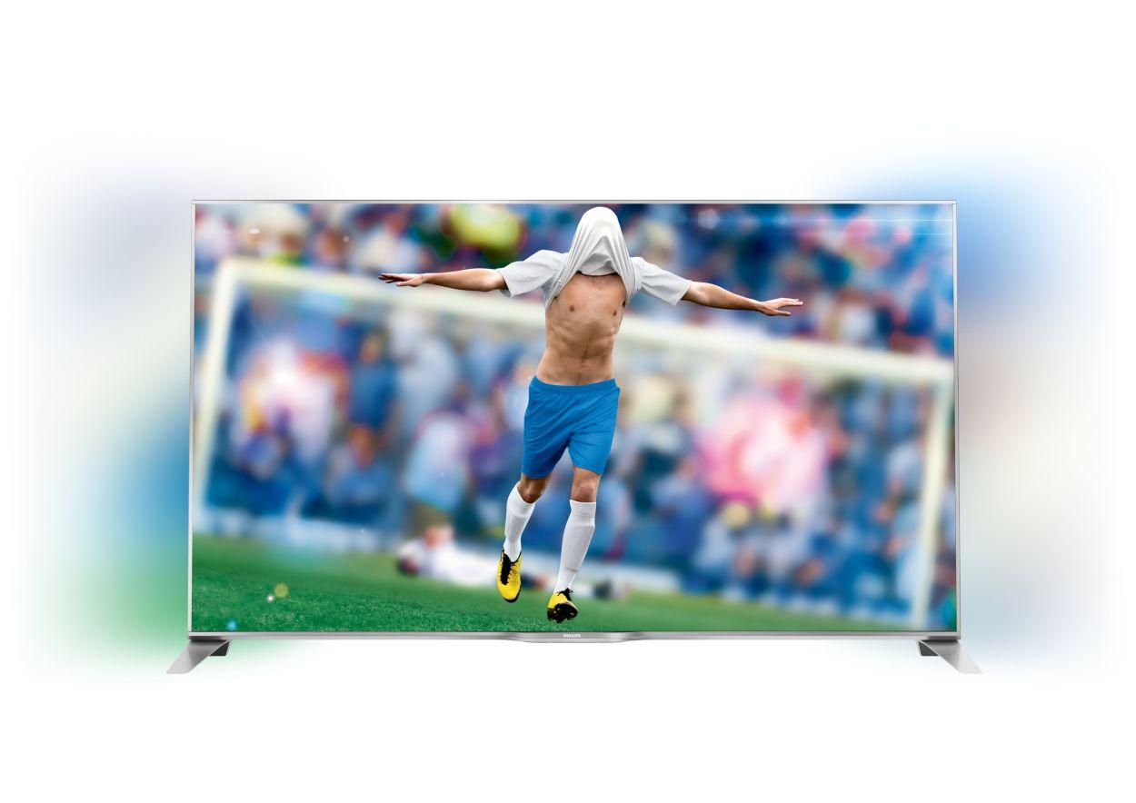 c p PFS series ultratyndt smart full hd led tv med sidet ambilight og smart tv specifikationer