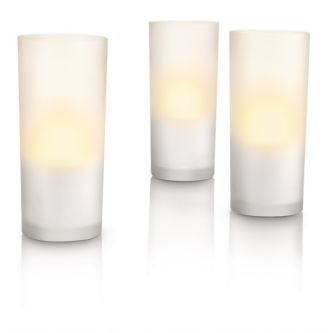 Philips  CandleLights valge, 3 tk  69108/60/PH