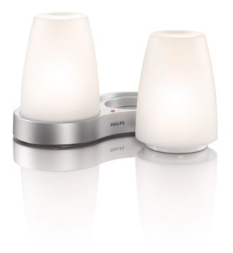 Philips  TableLights, White Set med 2 69110/60/PH