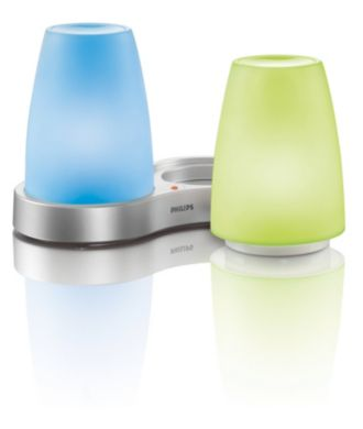 Philips  TableLights multicolores 2 pièces 69116/55/PH