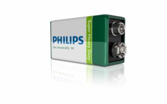 Philips  Battery 9V 6F22L2D/27