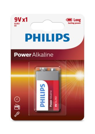 Philips  Battery 9V 6LR61P1B/10