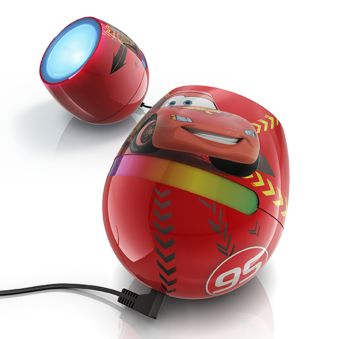 Micro Cars red LED Table lamp