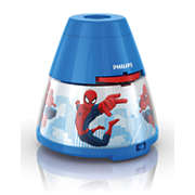 Marvel 2-in-1 Projector and night light