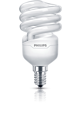 Spiral energy saving bulb