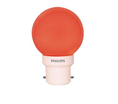 0.5W (15W) B22 Cap Red Bulb