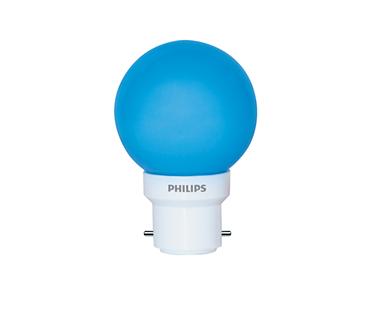 0.5W (15W) B22 Cap Blue Bulb