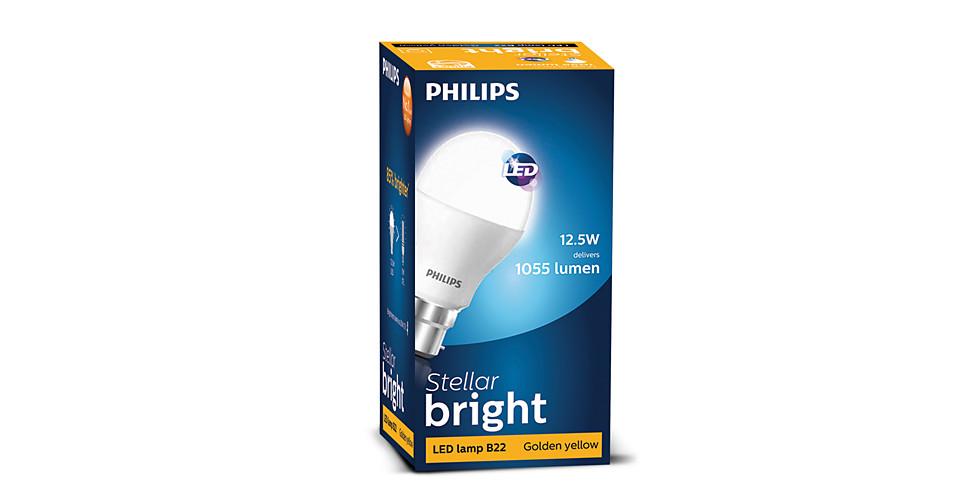 12.5W (85W) B22 Cap Warm White Bulb