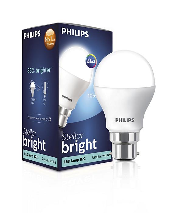 14 Watt (100W) B22 Cap Cool Daylight Bulb